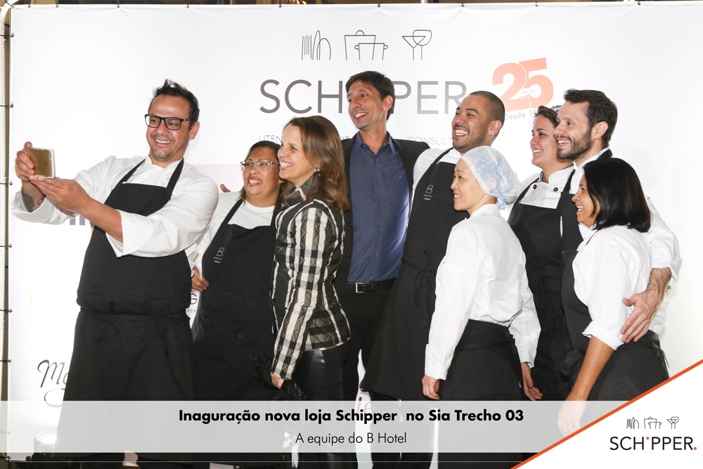 Inauguração nova loja Schipper